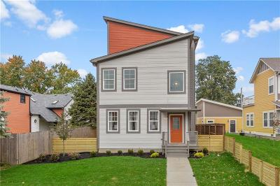 Indianapolis Single Family Home For Sale: 1510 Hoyt Avenue
