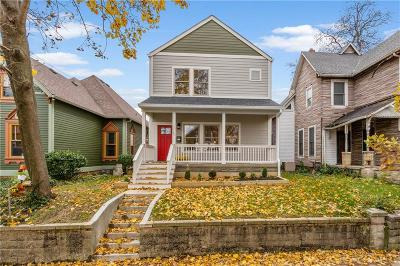 Indianapolis Single Family Home For Sale: 1315 Sturm Avenue