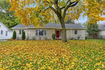Indianapolis Single Family Home For Sale: 41 West Kessler Boulevard Drive
