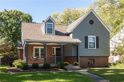 Indianapolis Single Family Home For Sale: 6232 North Washington Boulevard
