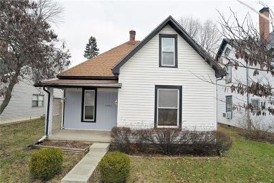 Noblesville Single Family Home For Sale: 1492 Grant Street