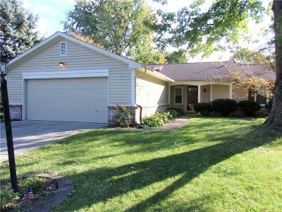 Fishers Single Family Home For Sale: 11713 Cameron Drive