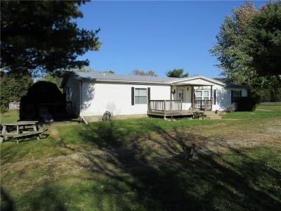 Parke County Single Family Home For Sale: 10362 East Lakeside Drive