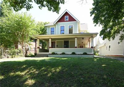 Indianapolis Single Family Home For Sale: 3307 North Pennsylvania Street