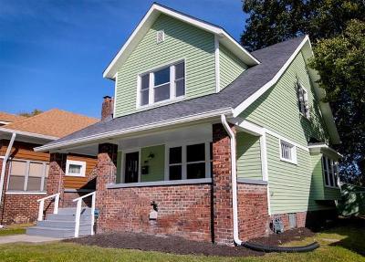 Indianapolis Single Family Home For Sale: 4027 Graceland Avenue