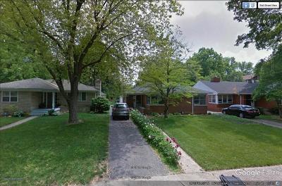 Indianapolis Single Family Home For Sale: 5931 Carrollton Avenue
