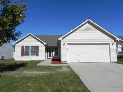 Whitestown Single Family Home For Sale: 6396 Green Grass Lane