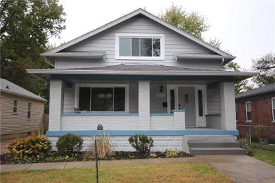 Indianapolis Single Family Home For Sale: 4712 Kingsley Drive