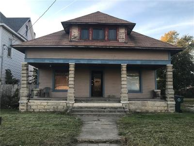 Delaware County Single Family Home For Sale: 1313 South Hoyt Avenue