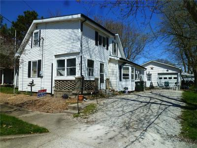 Greenfield Multi Family Home For Sale: 511a & 511b South Pennsylvania Street