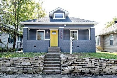 Indianapolis Single Family Home For Sale: 1317 East Minnesota Street