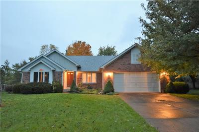 Indianapolis Single Family Home For Sale: 8337 Redondo Drive