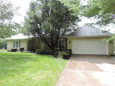 Noblesville Single Family Home For Sale: 17605 Cherry Tree Road