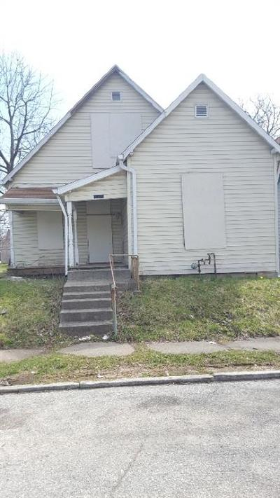 Indianapolis Single Family Home For Sale: 1205 South Randolph Street