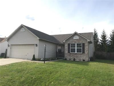 Brownsburg Single Family Home For Sale: 252 Lazy Hollow Drive