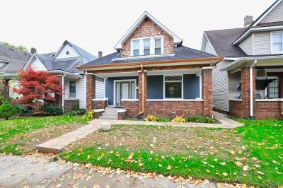 Indianapolis Single Family Home For Sale: 1935 Hoyt Avenue