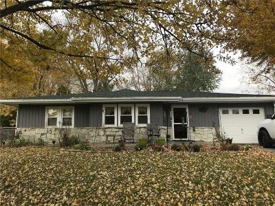 Greencastle IN Single Family Home For Sale: $127,900