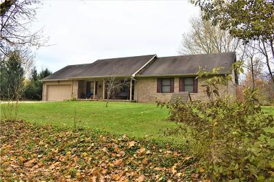 Mooresville Single Family Home For Sale: 10538 North Antioch Road