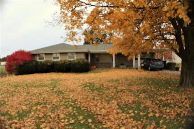 Delaware County Single Family Home For Sale: 13800 West Commerce Road