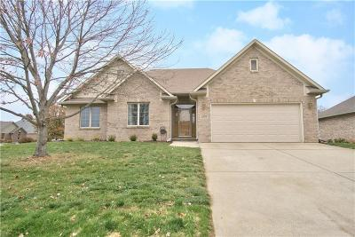 Hendricks County Single Family Home For Sale: 6790 Wesley Court