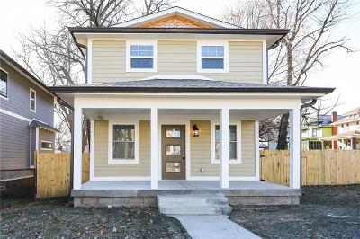 Indianapolis Single Family Home For Sale: 529 East 32nd Street