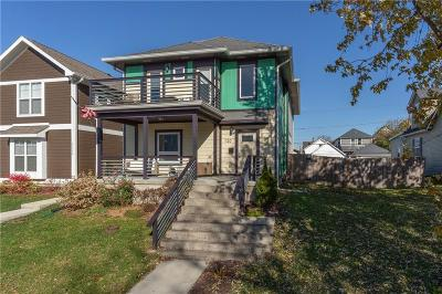 Indianapolis Single Family Home For Sale: 1120 Fletcher Avenue