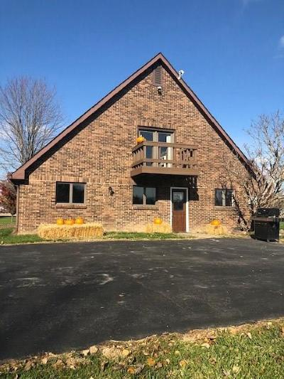 Clinton County Single Family Home For Sale: 6483 West County Road 800 N