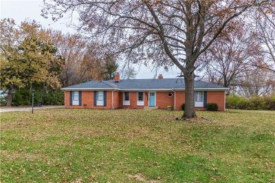 Greenfield Single Family Home For Sale: 1509 Bruner Drive