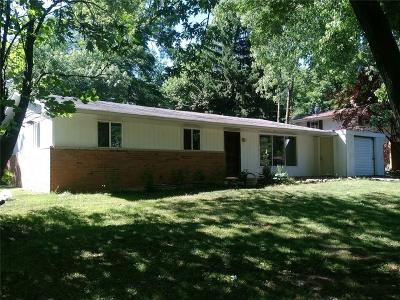 Marion County Single Family Home For Sale: 6897 West 13th Street