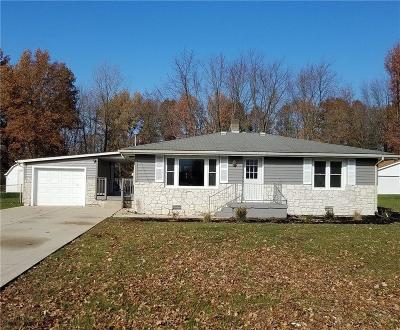 Anderson IN Single Family Home For Sale: $119,000