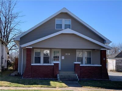 Greensburg  Single Family Home For Sale: 747 North Michigan Avenue