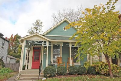 Indianapolis Single Family Home For Sale: 610 Lexington Avenue