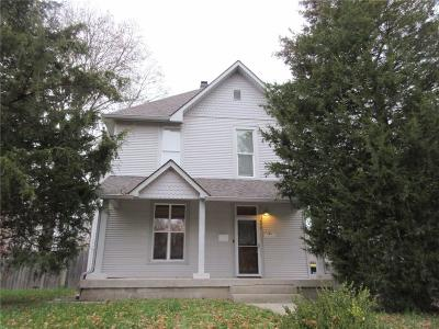 Indianapolis Single Family Home For Sale: 36 North Whittier Place