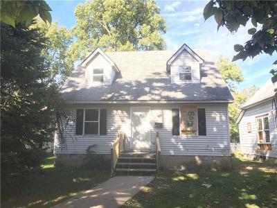 Indianapolis Single Family Home For Sale: 1022 West 31st Street