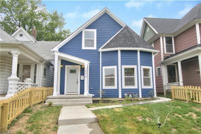 Indianapolis Single Family Home For Sale: 1025 Dawson Street
