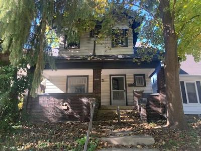 Indianapolis IN Single Family Home For Sale: $62,500