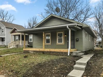 Indianapolis Single Family Home For Sale: 2046 Cornell Avenue
