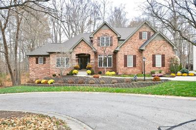 Zionsville Single Family Home For Sale: 11578 Trail Ridge Place