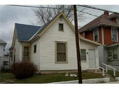 Indianapolis IN Single Family Home For Sale: $50,000