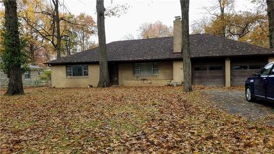 Indianapolis IN Single Family Home For Sale: $110,000