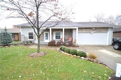 Indianapolis Single Family Home For Sale: 4603 Citation Boulevard