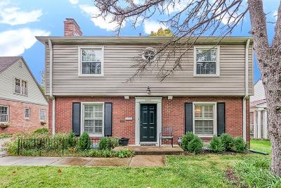 Indianapolis Single Family Home For Sale: 5236 Boulevard Place