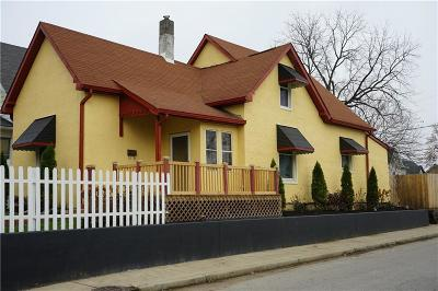 Indianapolis Single Family Home For Sale: 1665 South Talbott Street