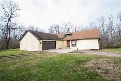Pendleton Single Family Home For Sale: 8639 South 75 E