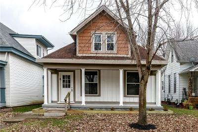 Indianapolis Single Family Home For Sale: 601 East Weghorst Street