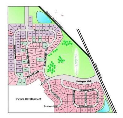 Delaware County Residential Lots & Land For Sale: Cedar Springs