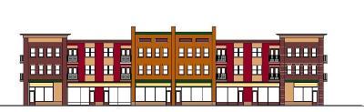 Noblesville Condo/Townhouse For Sale: 1 Pebble Village Lane #6