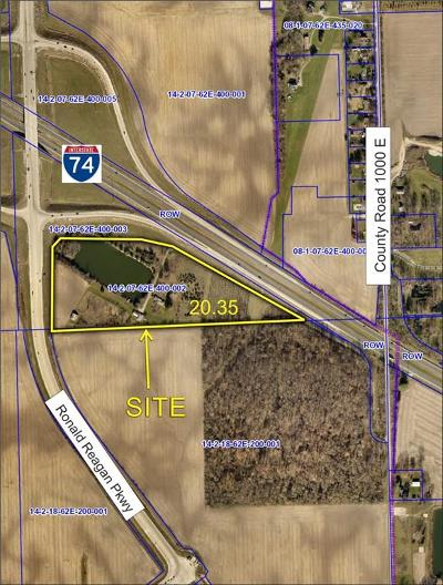 Brownsburg Commercial Lots & Land For Sale: 4920 North County Road 1000 E