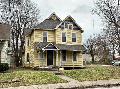 Indianapolis IN Single Family Home For Sale: $199,900