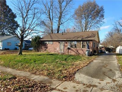 Noblesville Single Family Home For Sale: 437 North 18th Street
